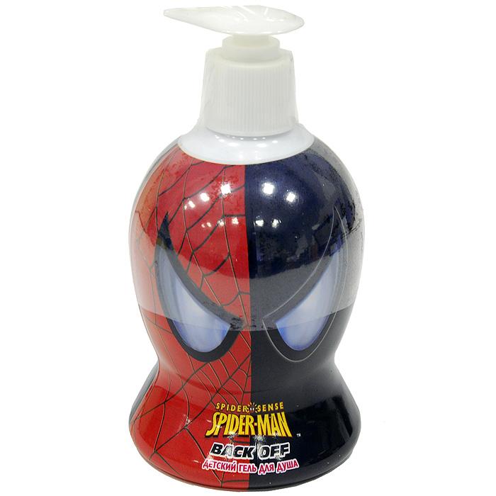 Детский гель для душа Spider-Man (Человек-Паук) Back off, 480 мл00677Гель для душа Back off пробуждает невероятную силу и ловкость в каждом супергерое. Образует густую ароматную пену, которая великолепно очищает и увлажняет кожу, заряжая дух энергией. После использования этого геля для душа в любом мальчишке обязательно проявится супергерой.