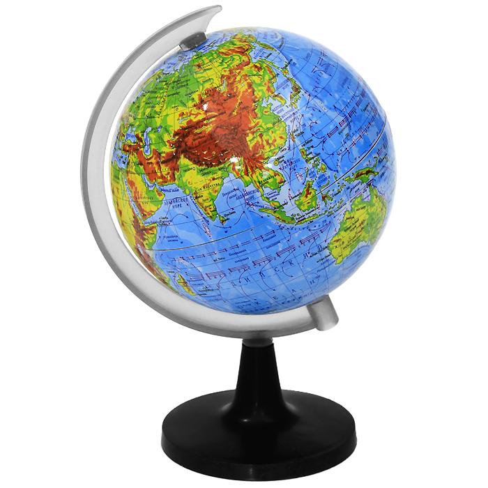 """Глобус """"Rotondo"""" с физической картой мира. Диаметр 10,6 см ( RG106/PH )"""