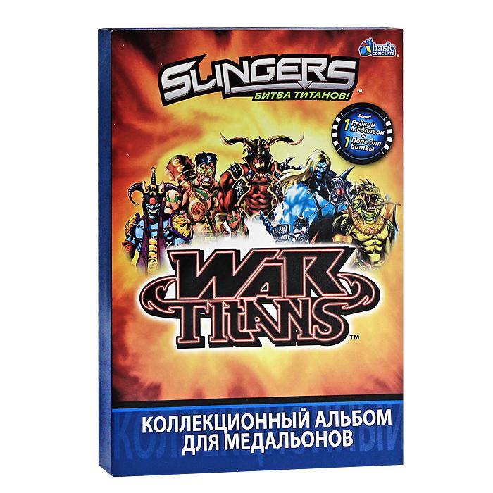 """Коллекционный альбом для медальонов """"Slingers (Слингерс)"""""""