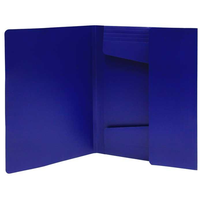 """Папка на резинке Erich Krause """"Megapolis"""", цвет: синий"""