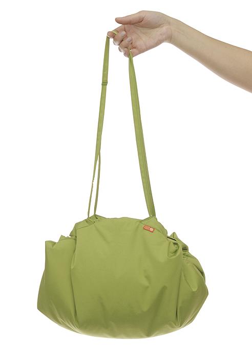 """Переносной коврик-сумка """"Чудо-Чадо"""", цвет: зеленый, джунгли"""