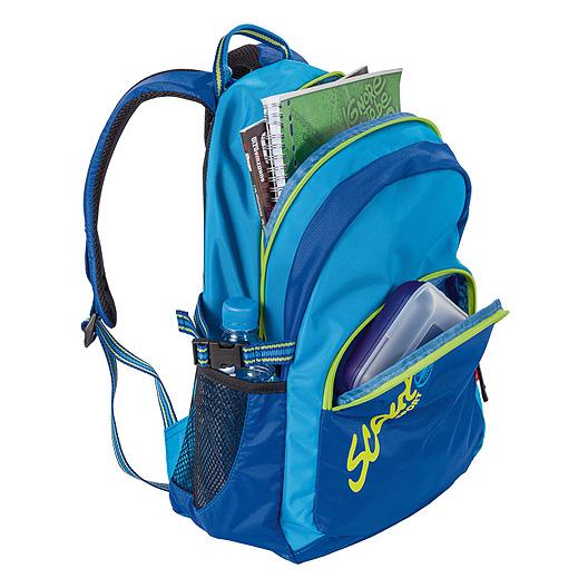 Рюкзак Scout `Backpack Allround`, цвет: синий, голубой, салатовый