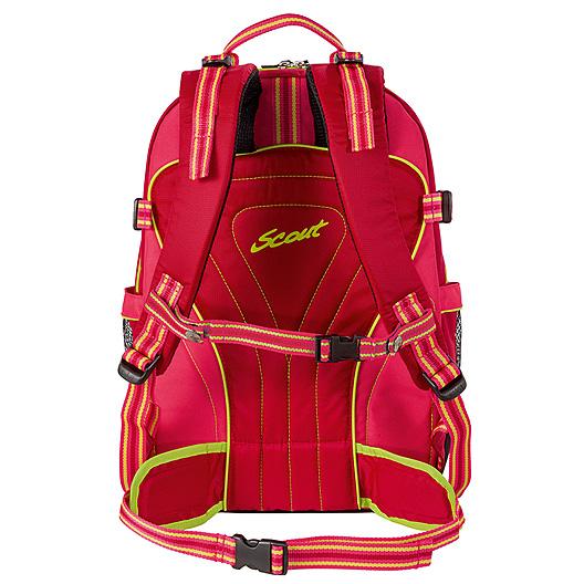 Рюкзак Scout `Backpack Skate`, цвет: красный, розовый, салатовый
