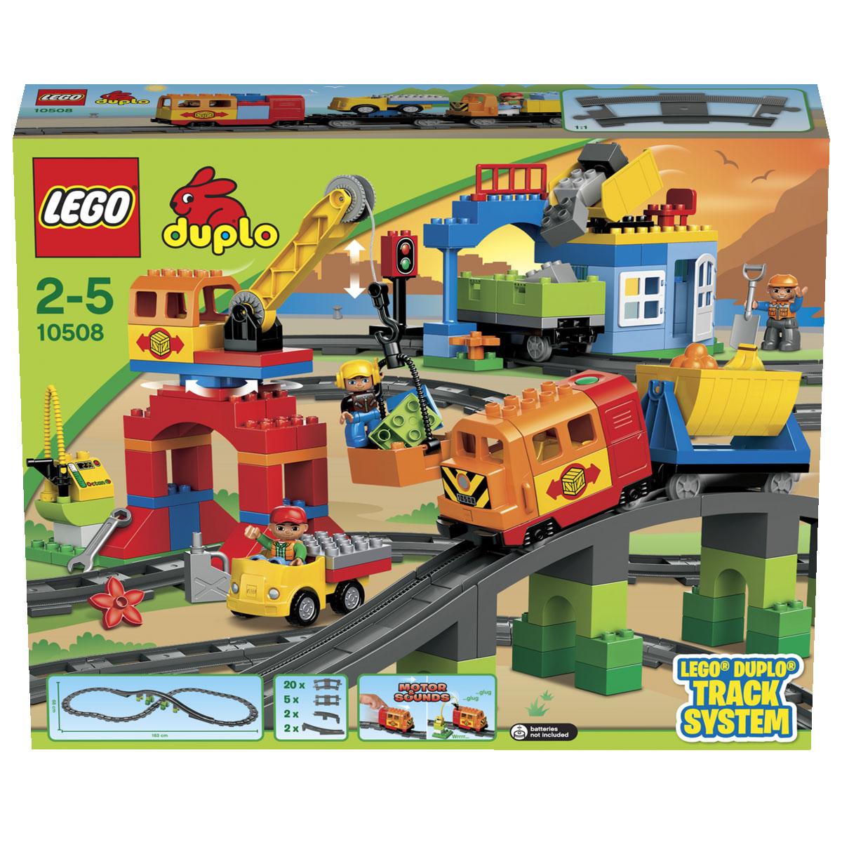 LEGO DUPLO Конструктор Большой поезд 10508 ( 10508 )