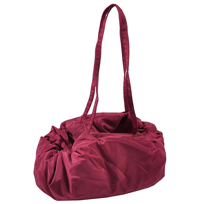 """Переносной коврик-сумка """"Чудо-Чадо"""", цвет: бордовый"""