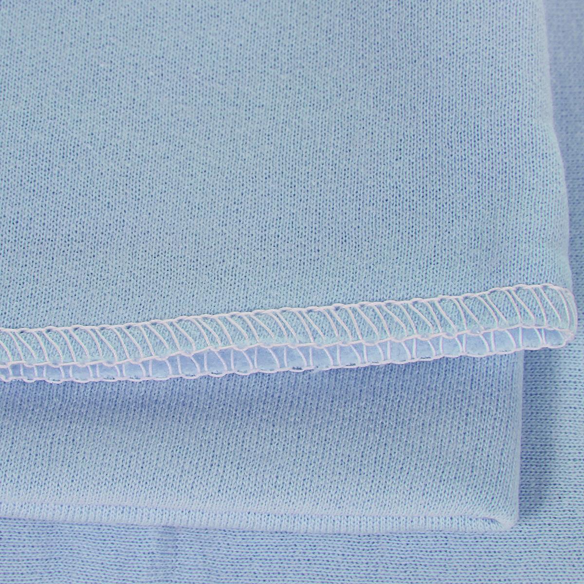 Трон-Плюс Пеленка детская цвет голубой 120 см х 90 см