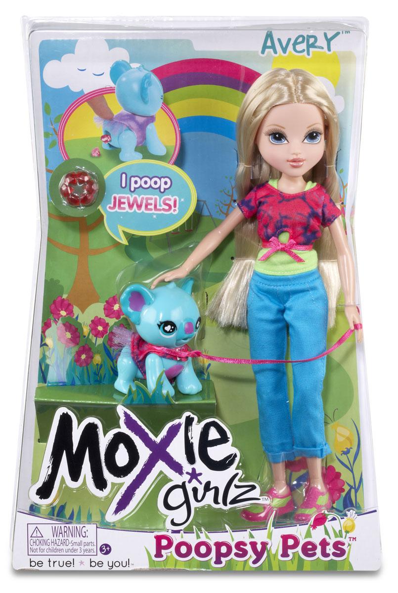 Moxie Кукла Эйвери с медвежонком