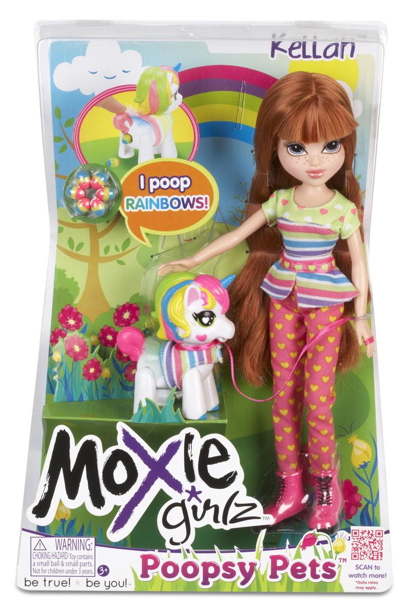 Moxie Кукла Келлан с единорогом