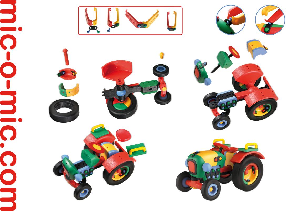 Mic-o-Mic Конструктор Трактор ( 089.071 )