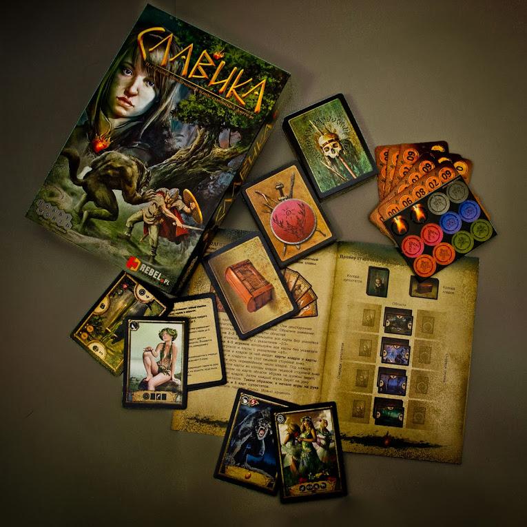 Hobby World Настольная игра Славика ( 1143 )