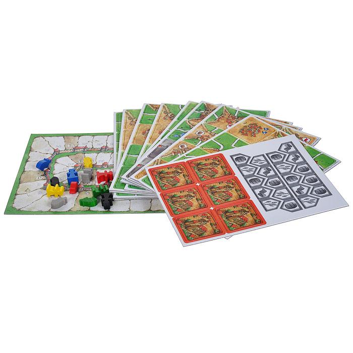 Настольная Игра Каркассон Королевский Подарок Carcassonne Big Box