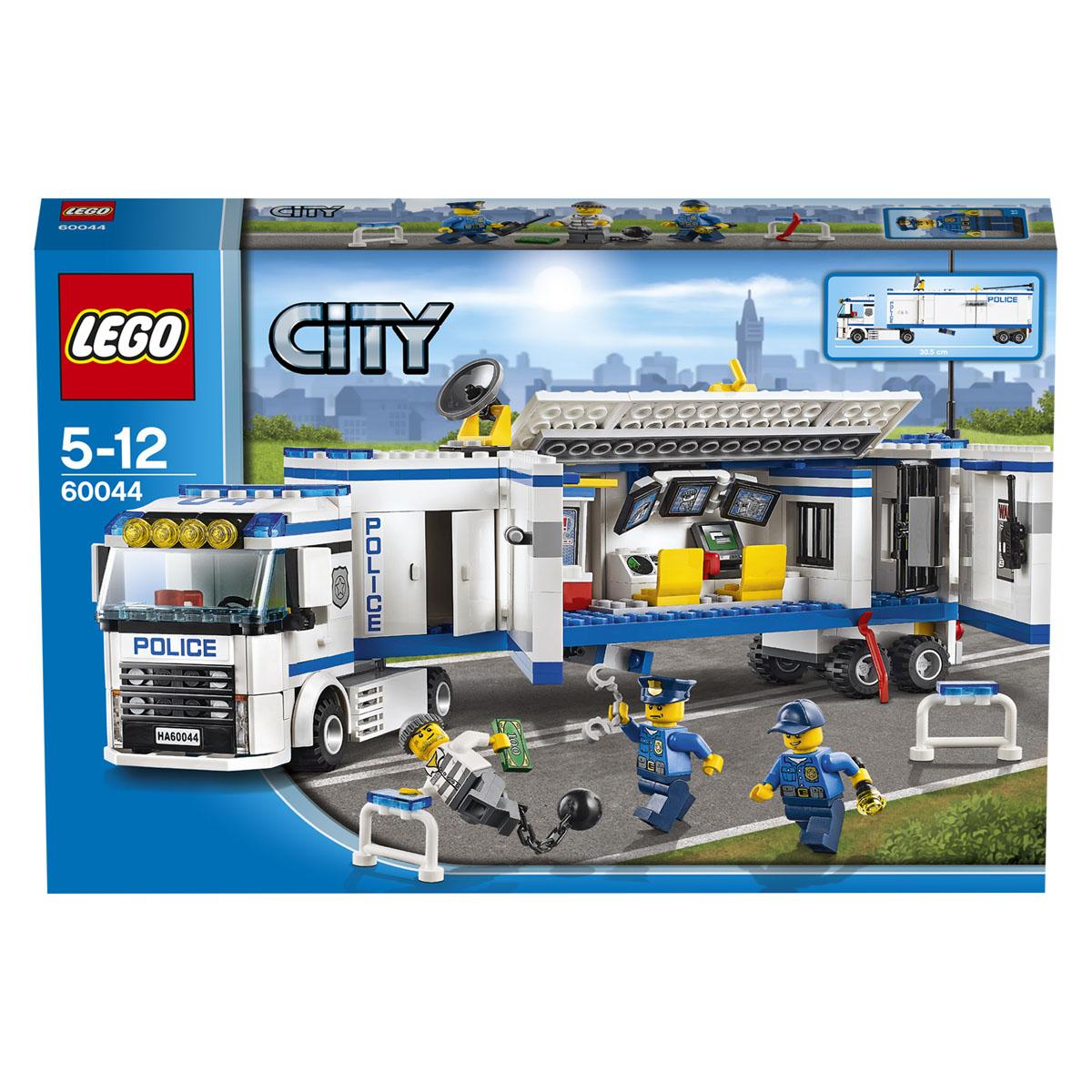 LEGO City Конструктор Выездной отряд полиции 60044 ( 60044 )