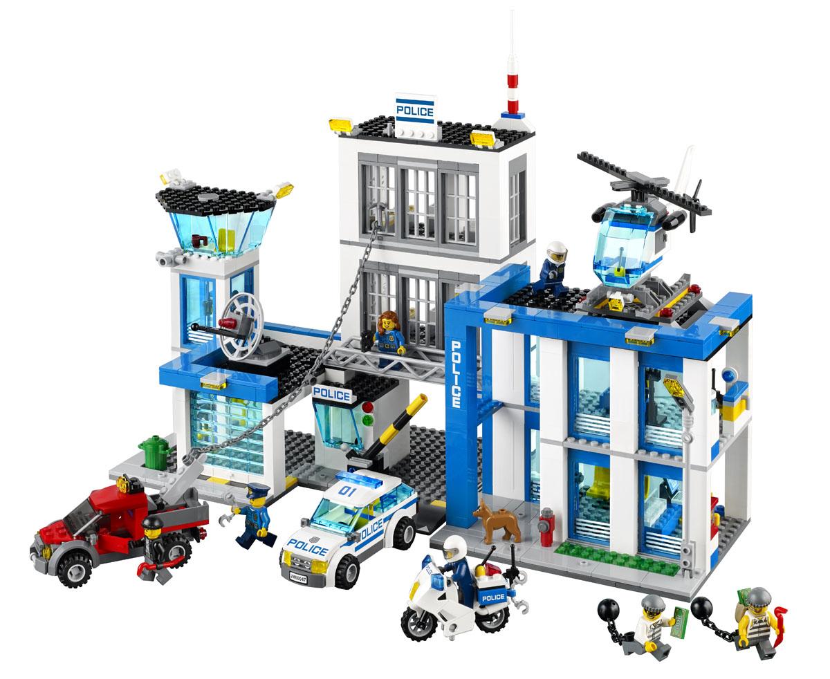 LEGO City Конструктор Полицейский участок 60047 ( 60047 )