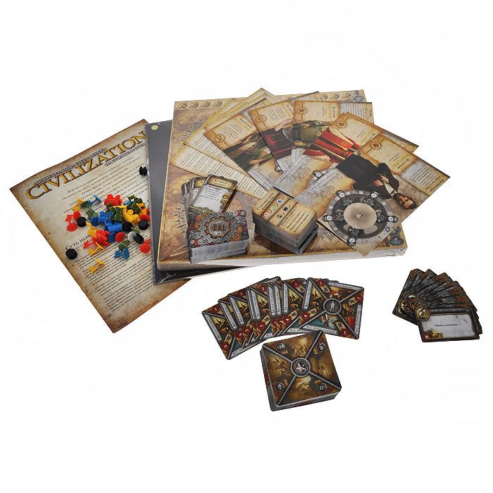 Hobby World Настольная игра Цивилизация Сида Мейера (3-е издание) ( 1112 )