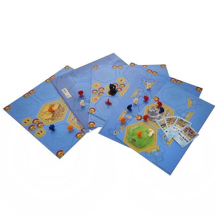 Hobby World Настольная игра Колонизаторы Мореходы (2-е издание) ( 1133 )
