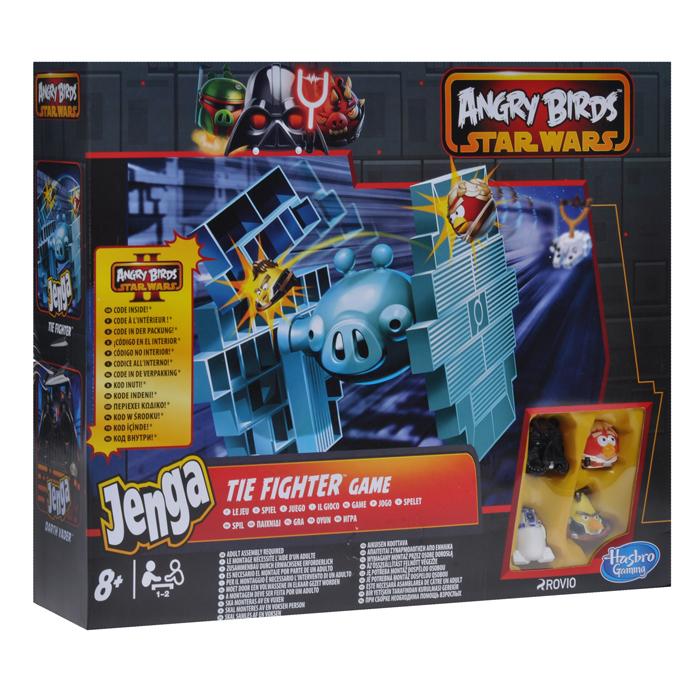 Настольная игра Angry Birds Star Wars Дженга: Истребитель класса Тай ( A4804 )