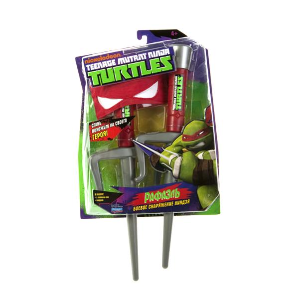 """Игровой набор Turtles """"Боевое снаряжение Черепашки-Ниндзя: Рафаэль"""", 3 предмета"""