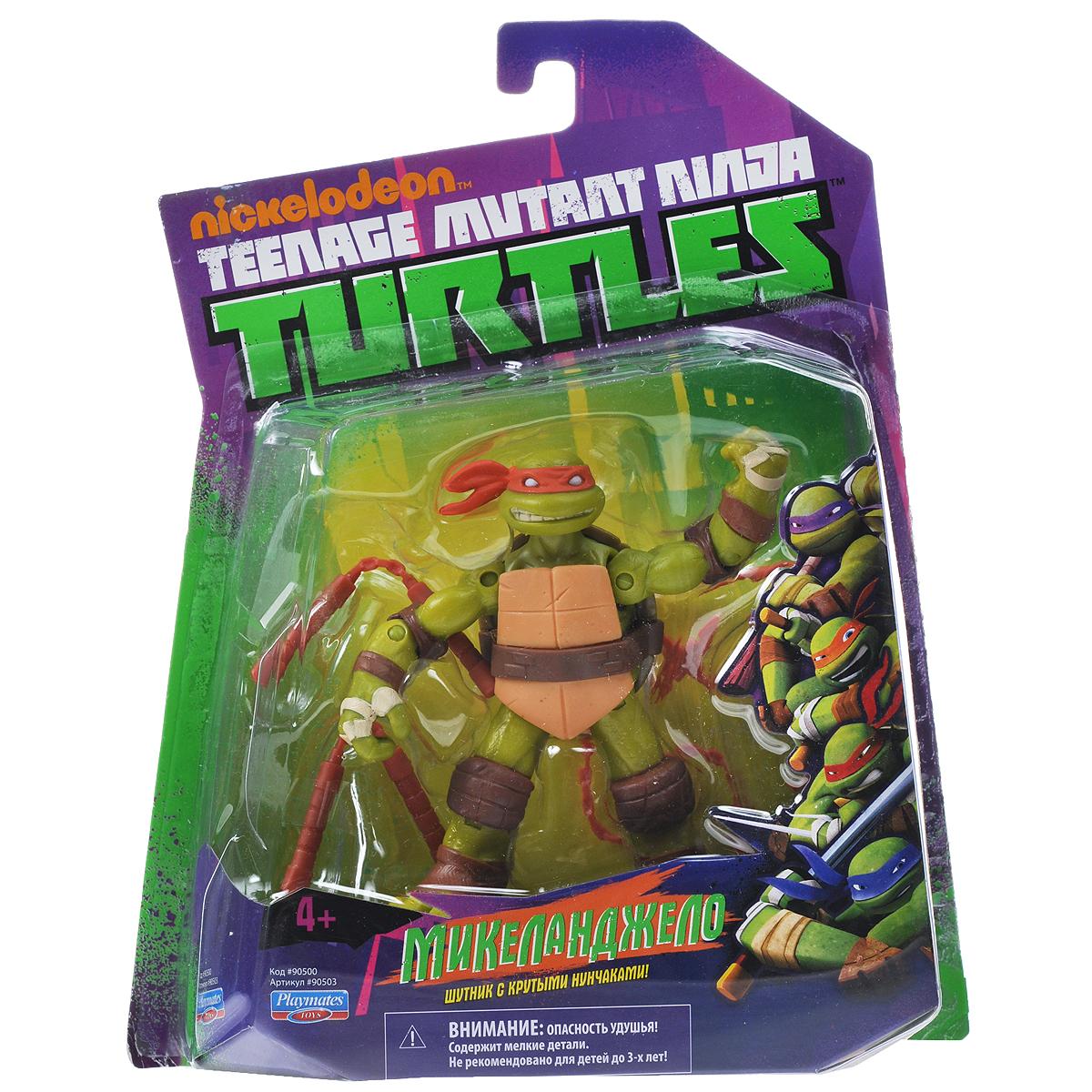 """Фигурка Turtles """"Микеланджело"""", 12 см"""