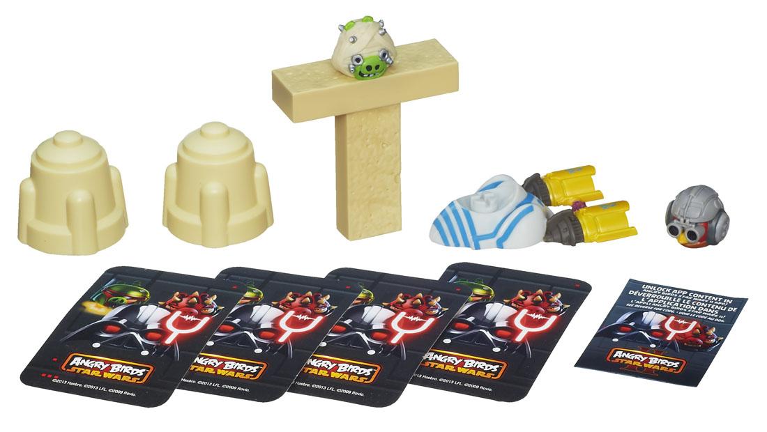 Настольная игра Angry Birds Star Wars Дженга гонщики, в ассортименте ( A5088 )