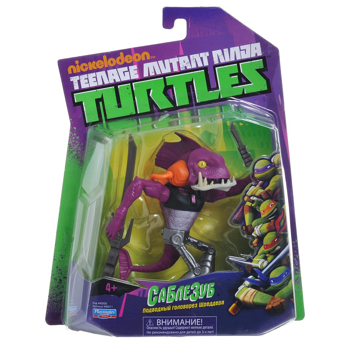 """Фигурка Turtles """"Саблезуб"""", 12 см"""