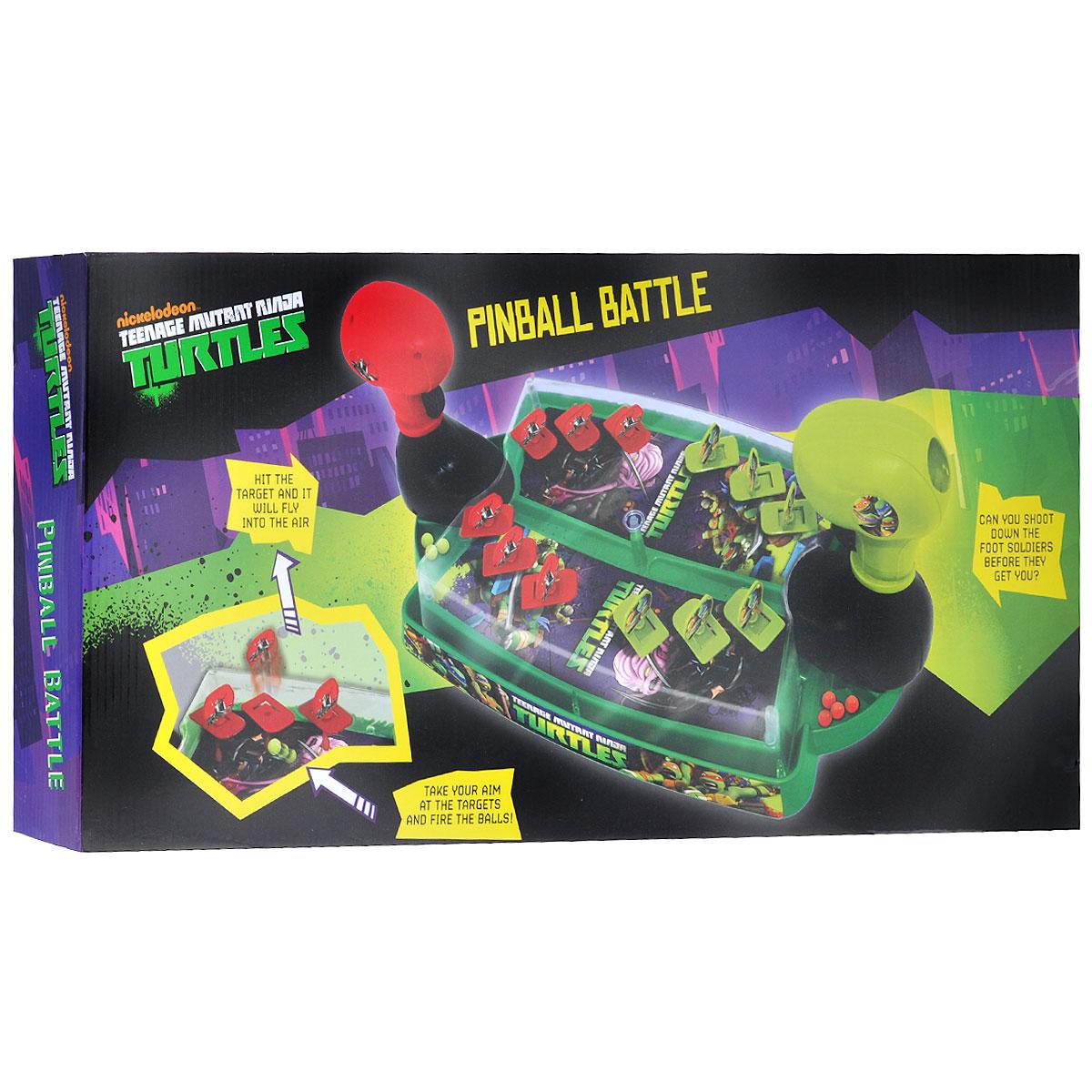"""Настольная игра Turtles """"Пинбольная битва"""" ( TMT-S13-724 )"""