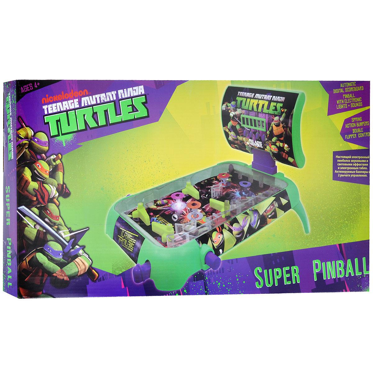 """Настольная игра Turtles """"Пинбол"""", с очками ( TMT-S13-722 )"""
