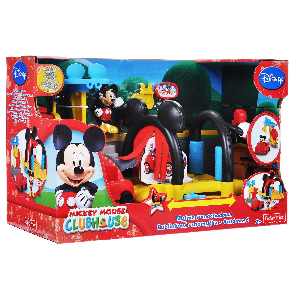 """Mickey Mouse Игровой набор """"Автомойка"""""""
