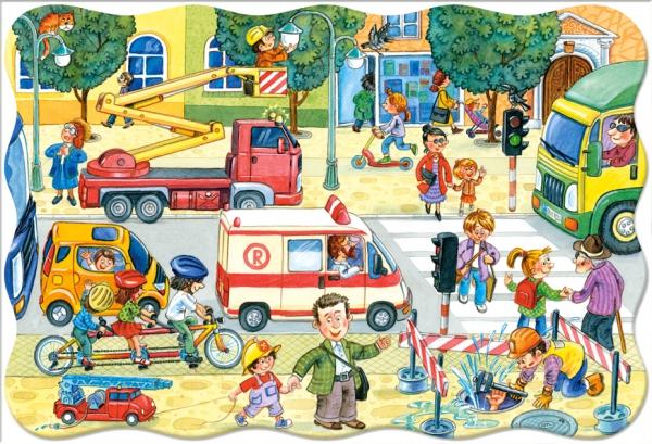 Castorland Пазл для малышей Город