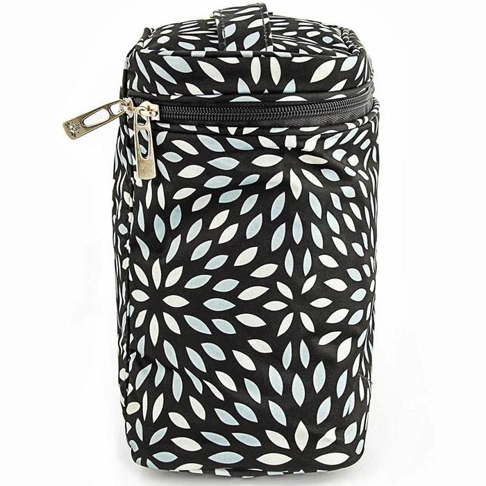 """Термосумка для бутылочек Ju-Ju-Be """"Fuel Cell Platinum Petals"""", цвет: черный, серебристый - 2"""