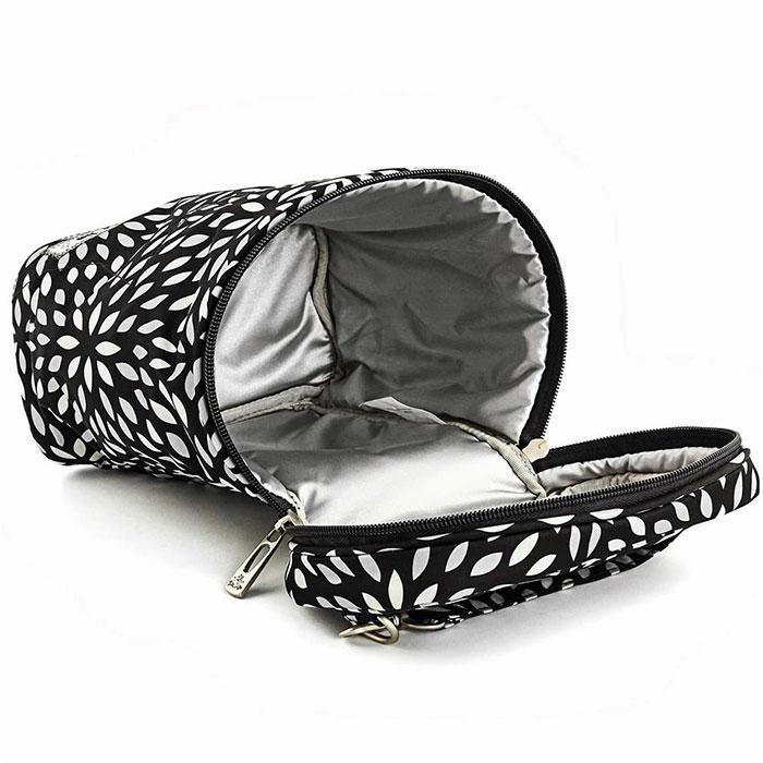 """Термосумка для бутылочек Ju-Ju-Be """"Fuel Cell Platinum Petals"""", цвет: черный, серебристый - 3"""