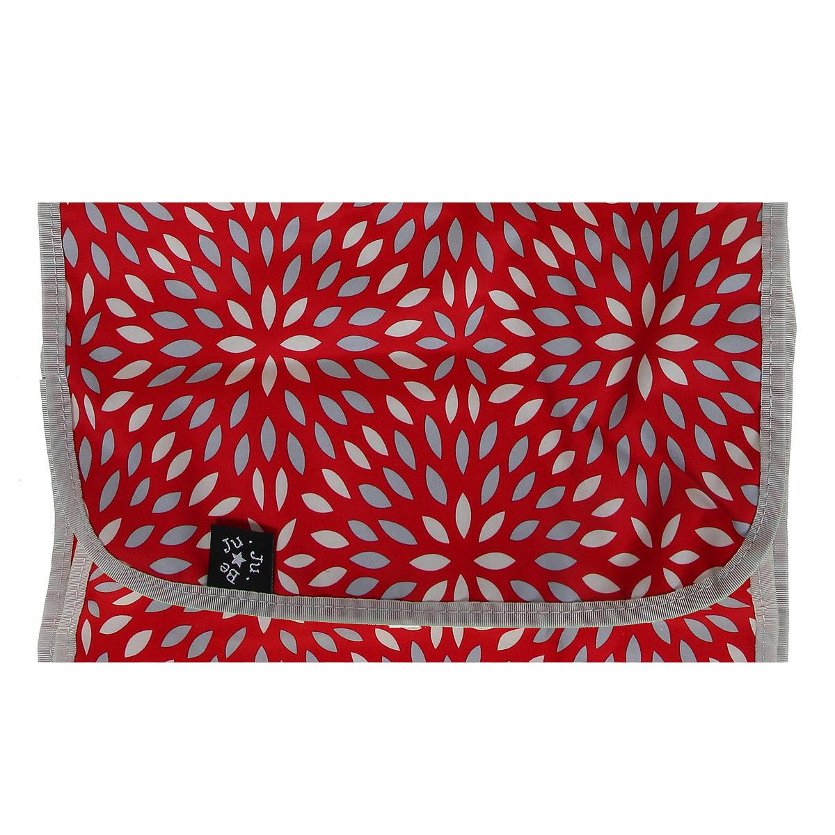 """Сумка для мамы Ju-Ju-Be """"HoboBe Scarlet Petals"""", цвет: красный, серебристый - 3"""