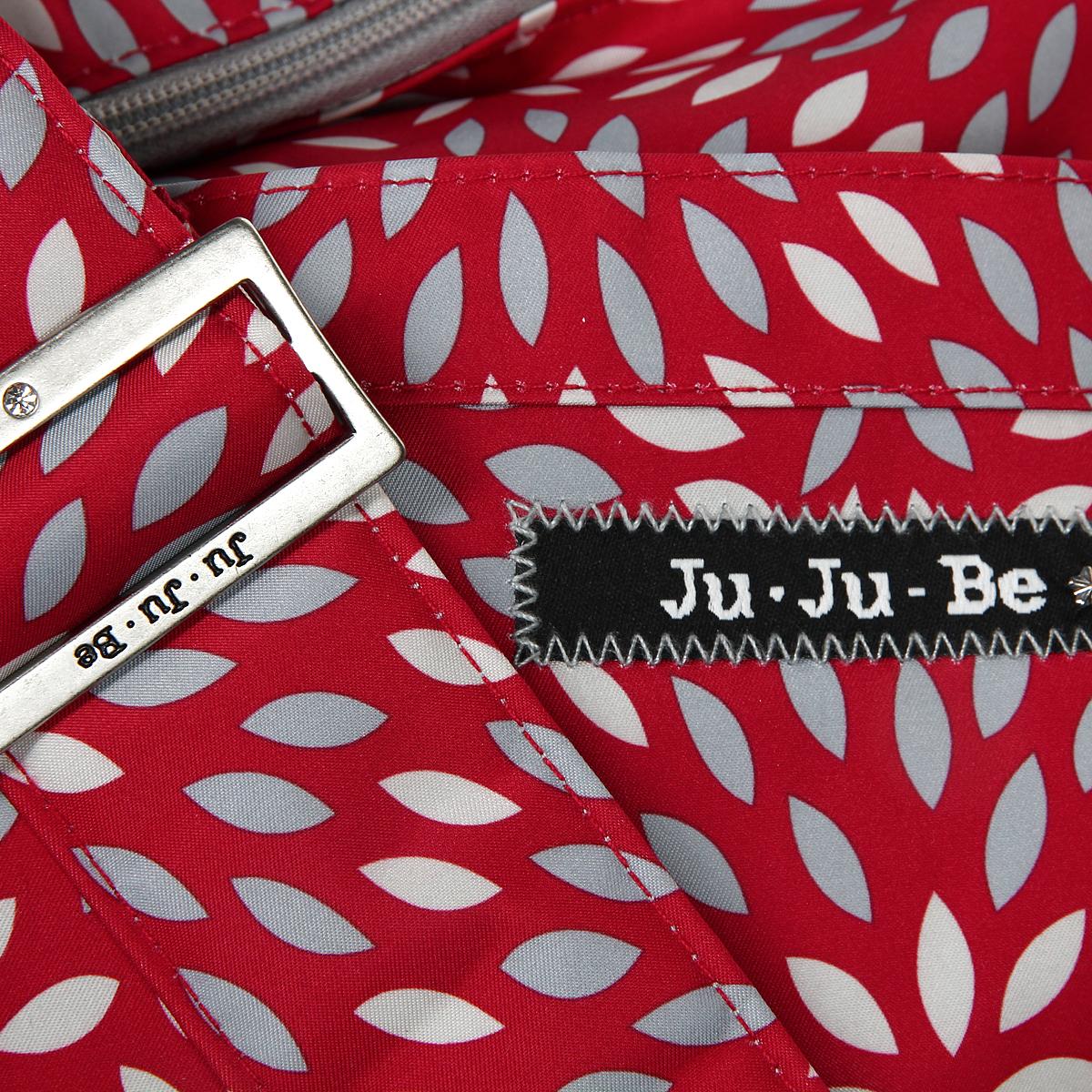 """Сумка для мамы Ju-Ju-Be """"HoboBe Scarlet Petals"""", цвет: красный, серебристый - 4"""