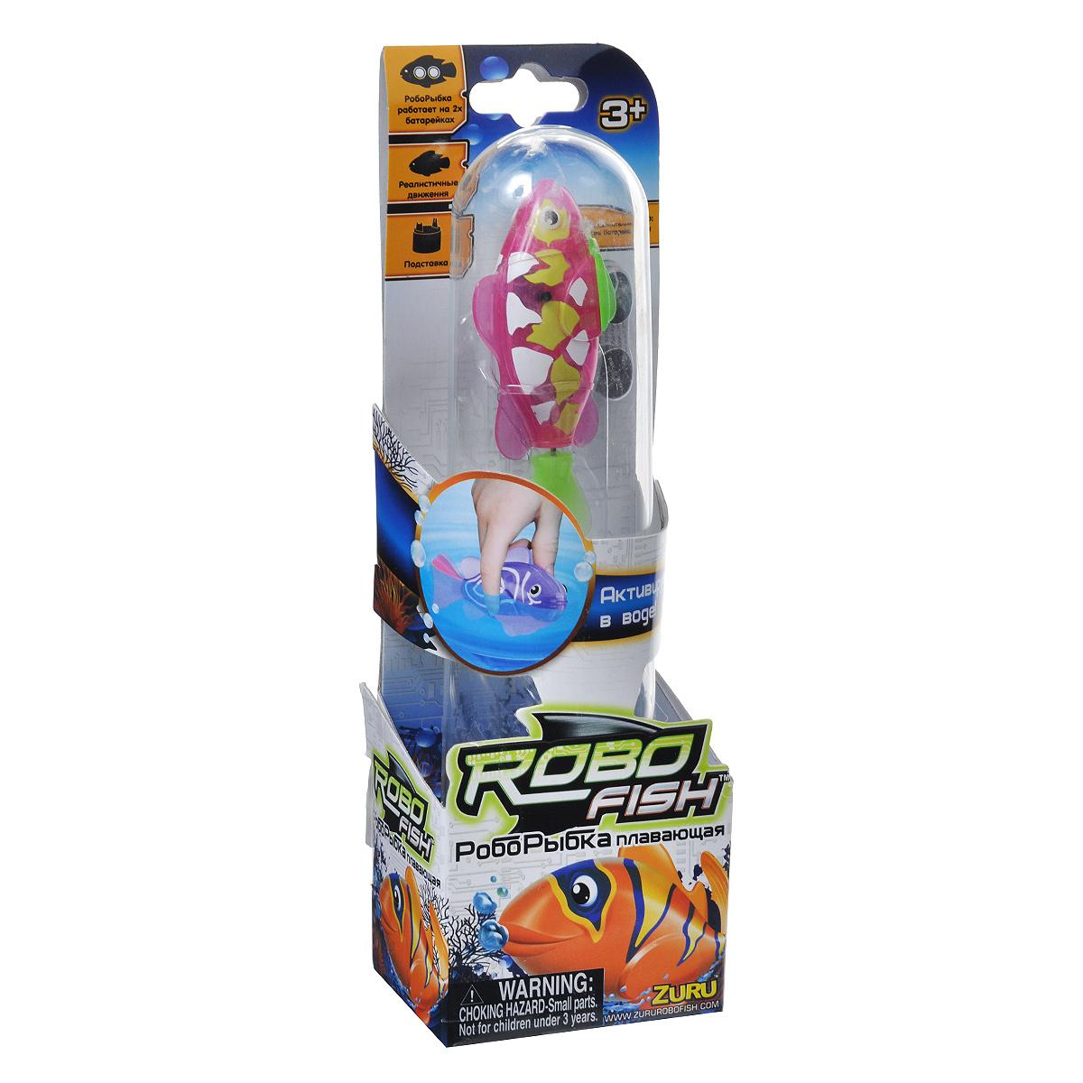 """Игрушка для ванны Robofish """"Тропическая РобоРыбка: Собачка"""", цвет: розовый, салатовый"""