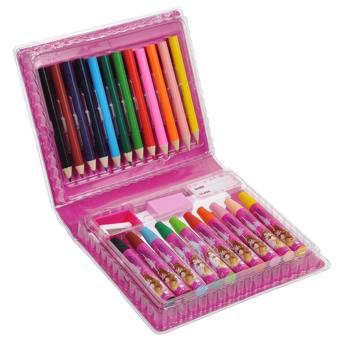 """Набор для рисования """"Princess"""", 25 предметов ( PRAA-US1-460199 )"""