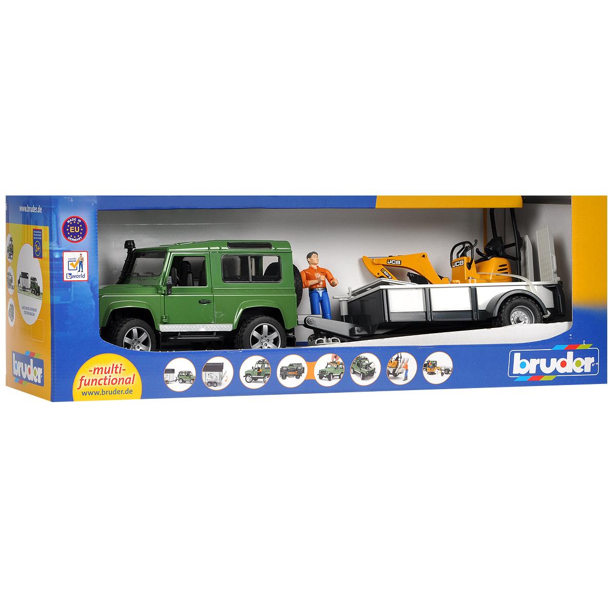 Bruder ����������� Land Rover Defender c �������� � ����-������������