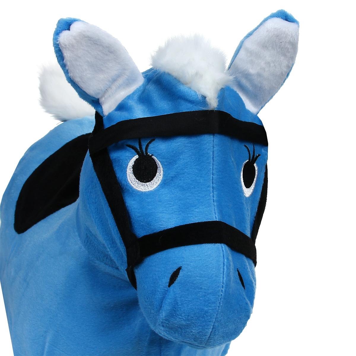 """Надувная игрушка-попрыгун """"Лошадка"""", цвет: голубой"""