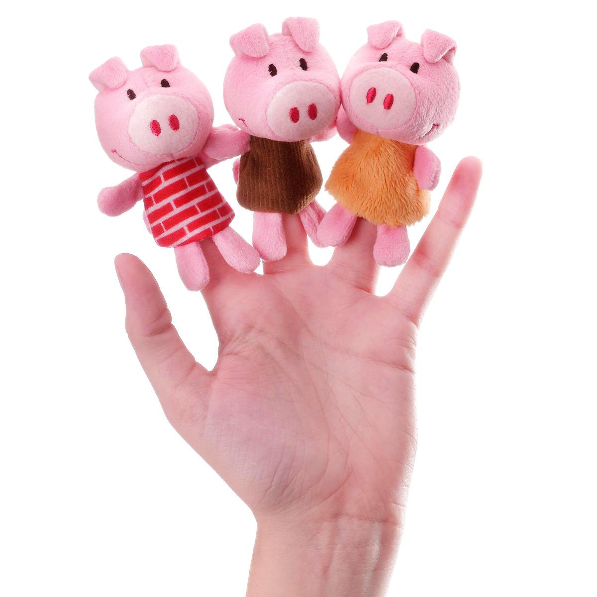 Пальчиковые игрушки Lilliputiens