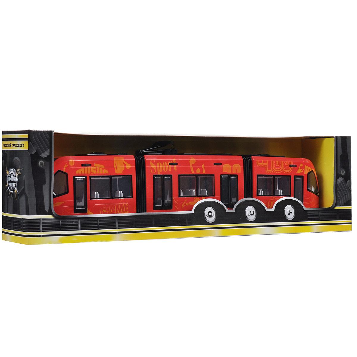 """Трамвай городской """"Пламенный мотор"""", цвет: красный"""
