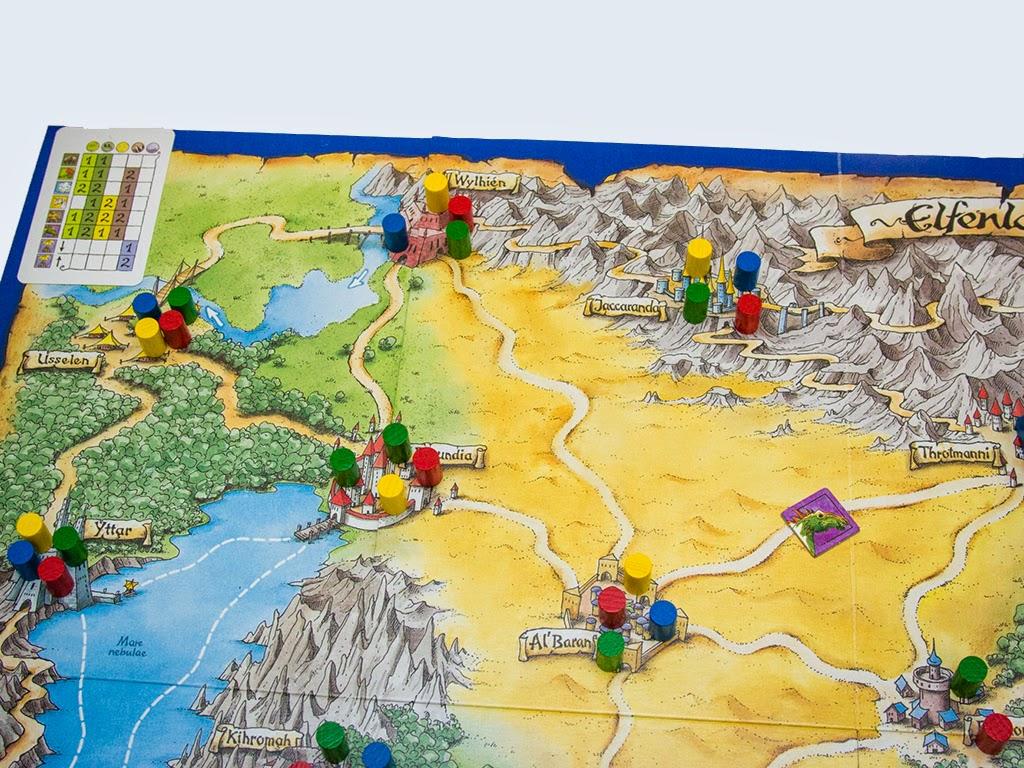 Hobby World Настольная игра Elfenland Волшебное Путешествие ( 1252 )