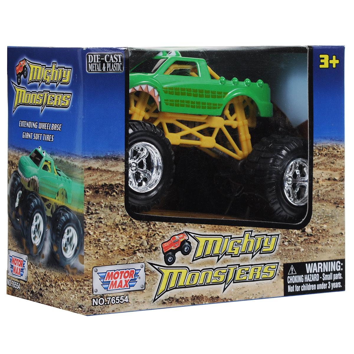 """Машинка MotorMax """"Багги"""", цвет: зеленый, желтый"""