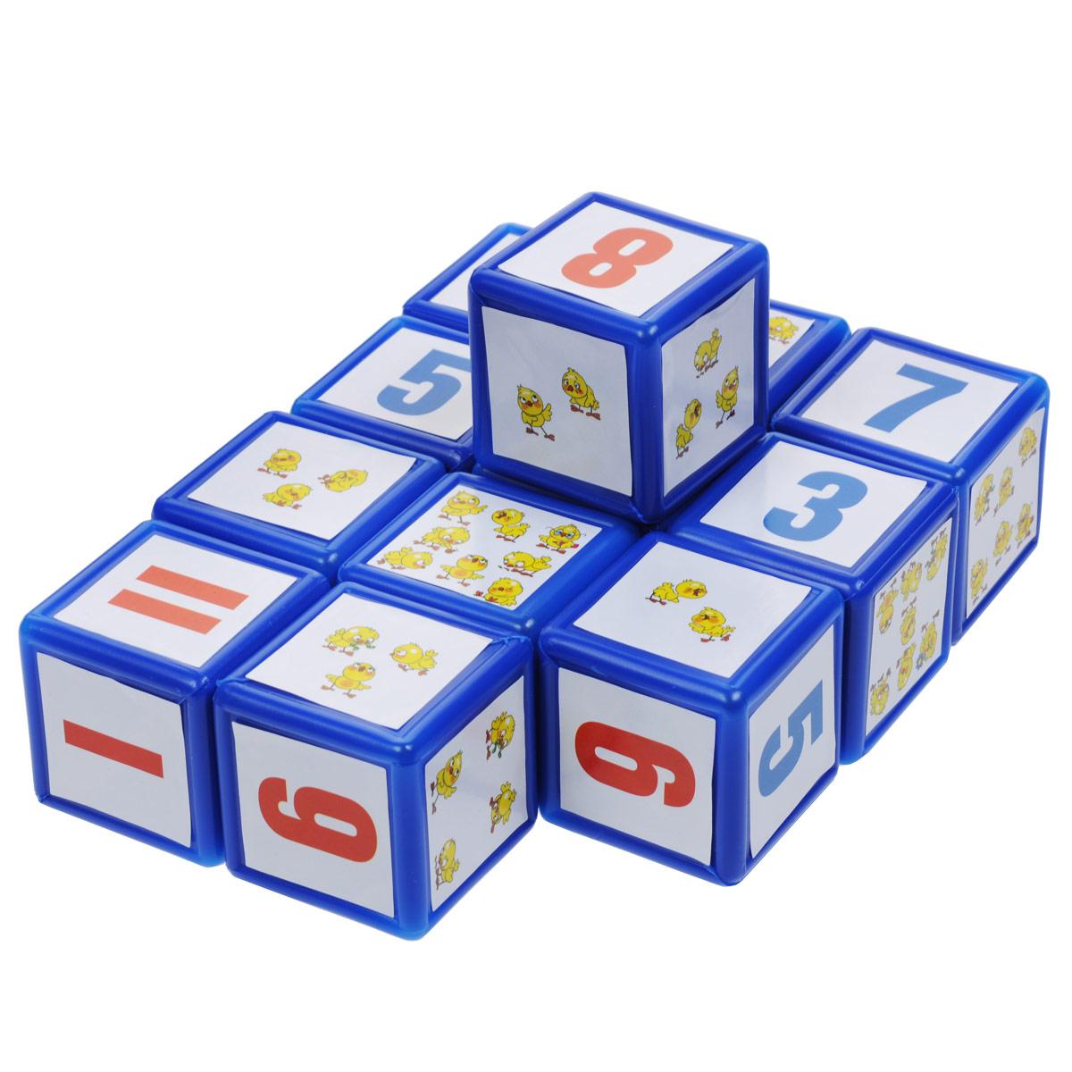 """Набор кубиков """"Арифметика"""", 12 шт. 00350"""