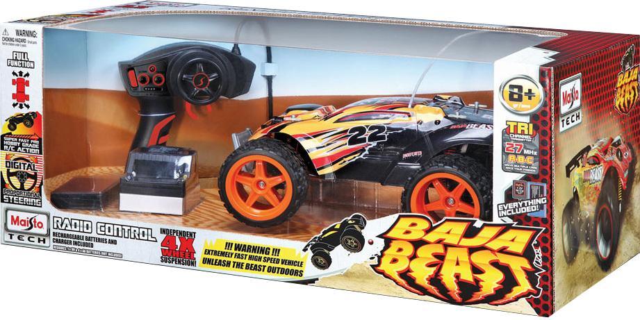 """Радиоуправляемая модель """"Baja Beast"""", цвет: оранжево-черныйРадиоуправляемая модель """"Baja Beast"""", цвет: оранжево-черный"""