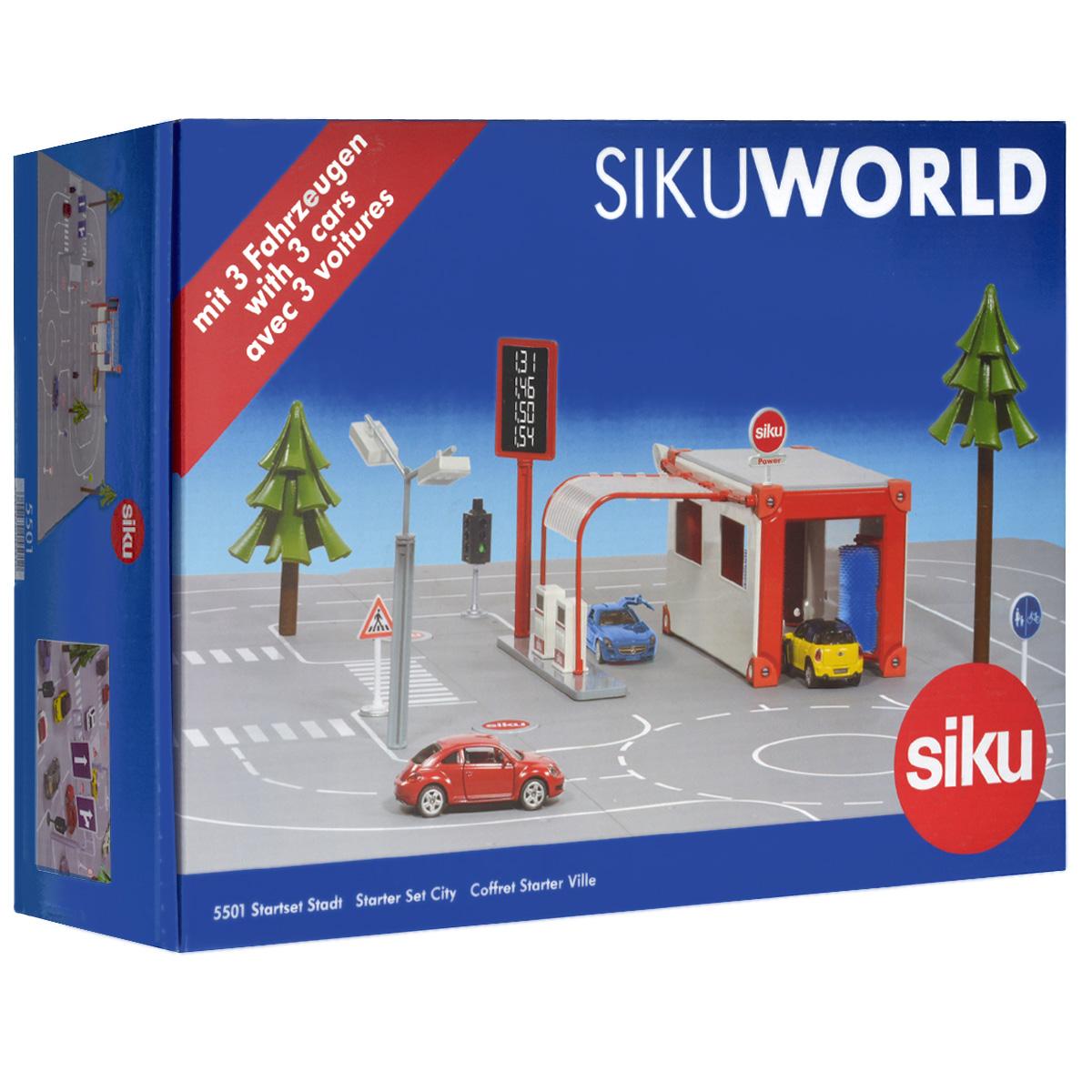 Siku Игровой набор Startset Stadt