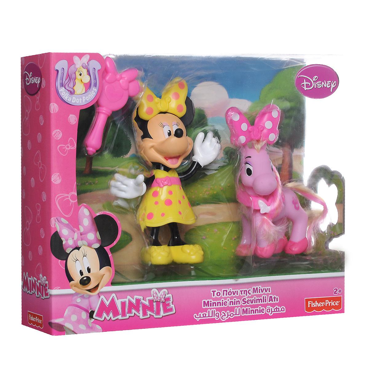 Minnie Mouse Игровой набор с мини-фигуркой Минни Маус с пони