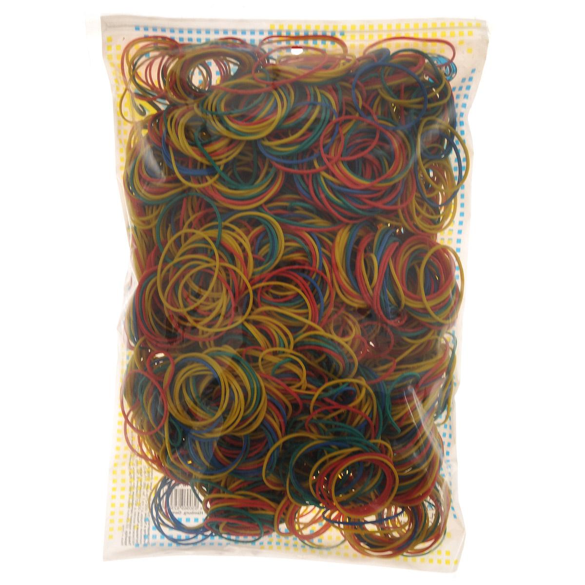 """Резинки банковские """"Centrum"""", цветные, 4 см, 1000 г"""