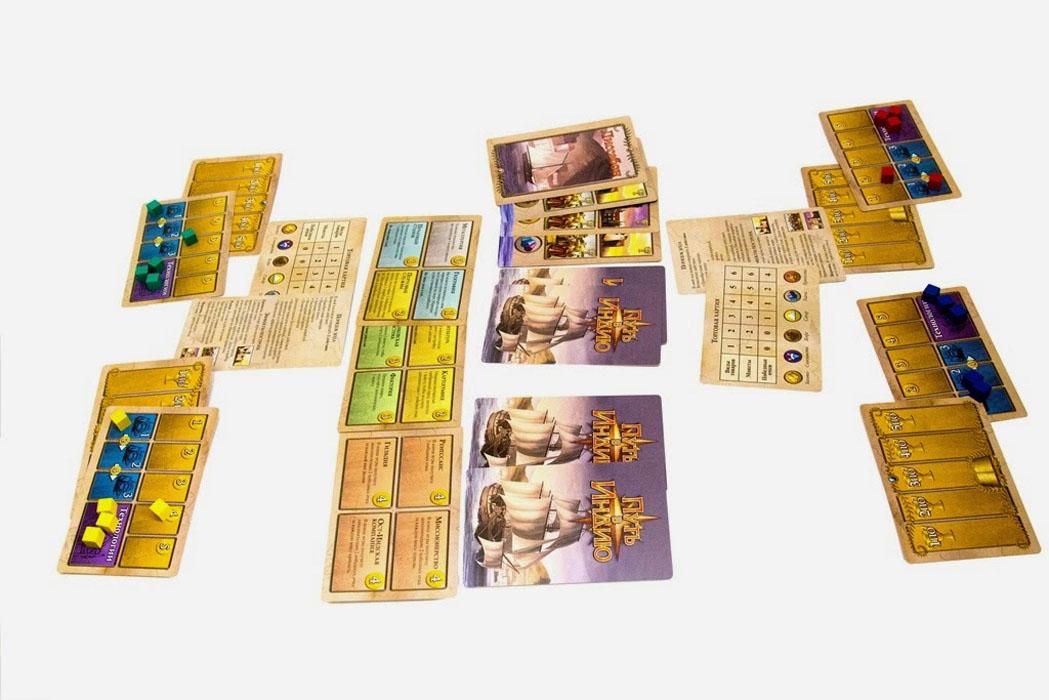 Hobby World Настольная игра Путь в Индию ( 1263 )