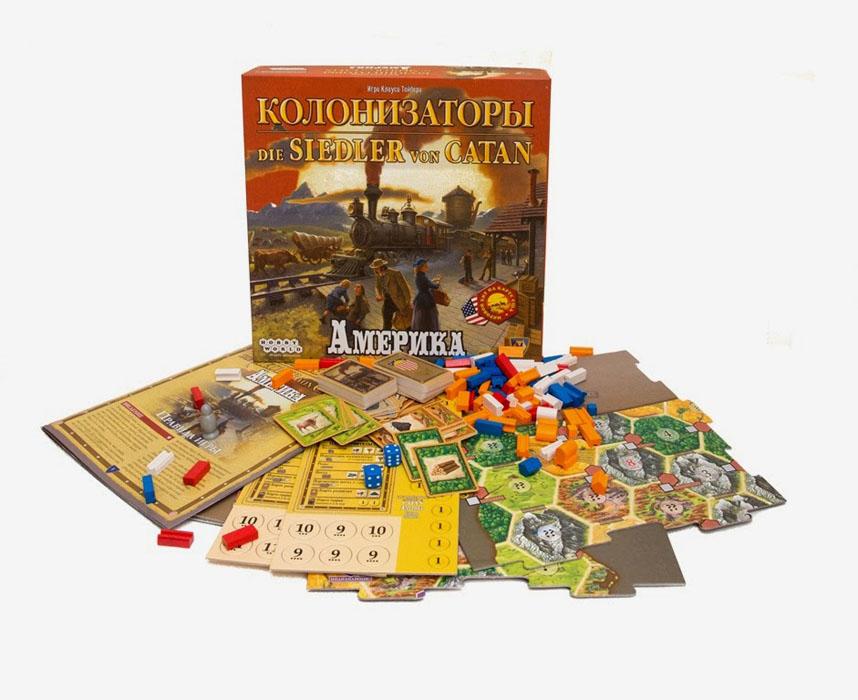 Hobby World Настольная игра Колонизаторы Америка ( 1277 )