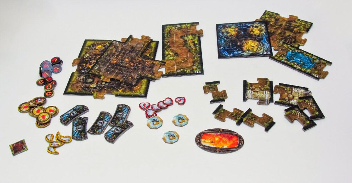 Hobby World Настольная игра Descent Странствия во тьме Логово Змея ( 1293 )