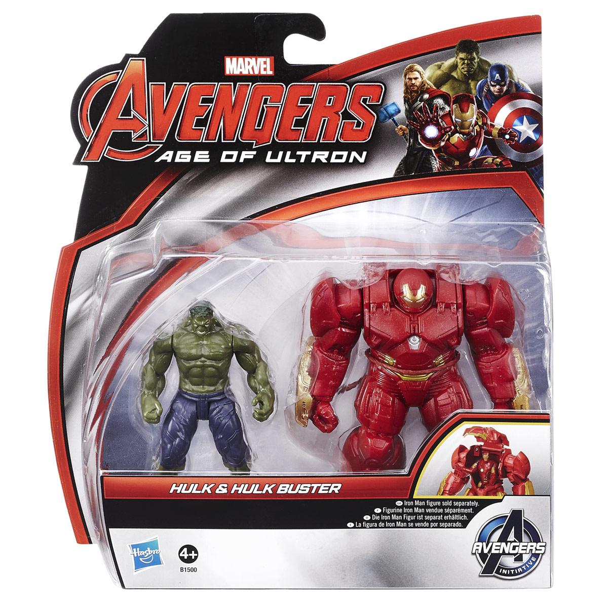 "Игровой набор Avengers ""Hulk & Hulk Buster"""