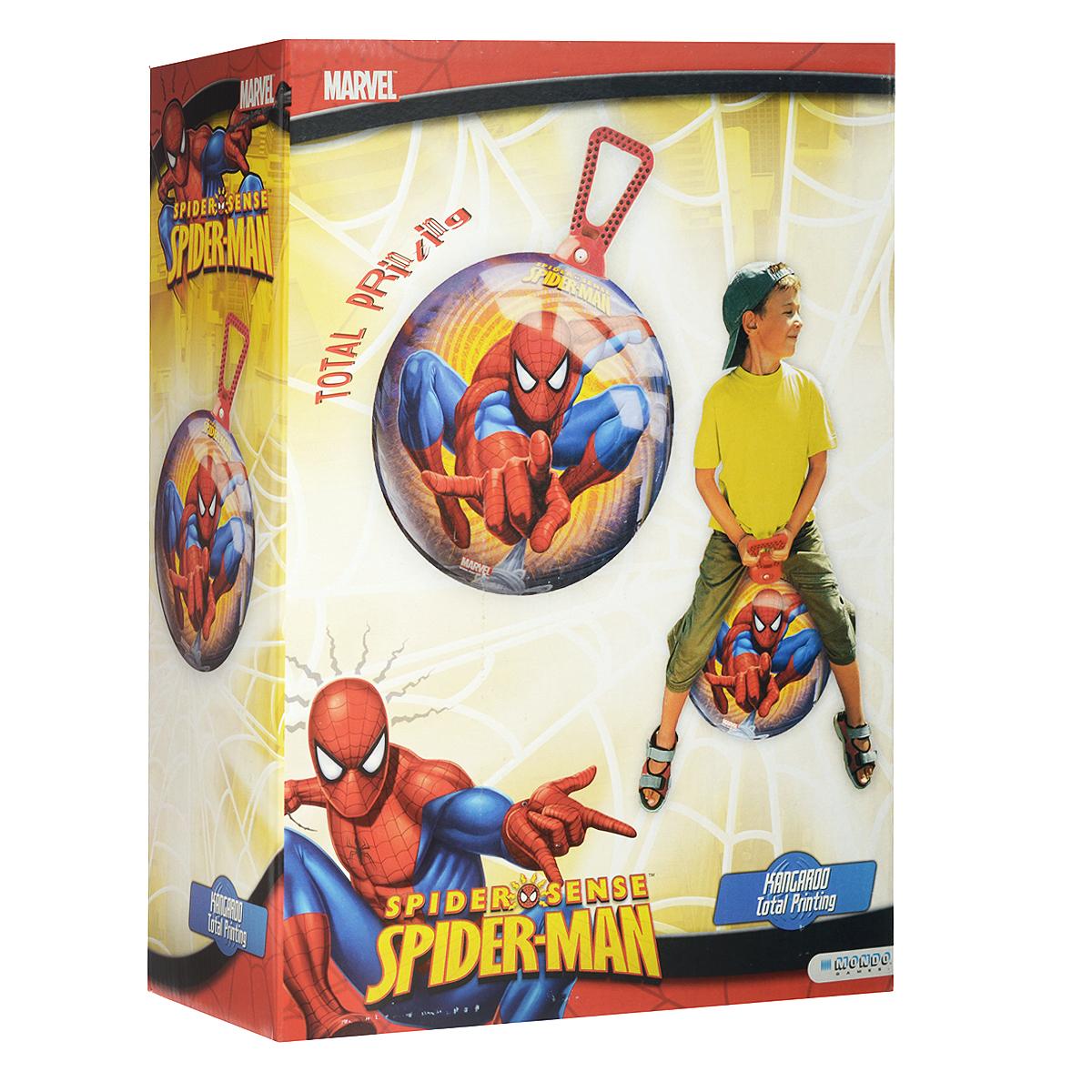 """Мяч-попрыгун Mondo """"Новый Человек-Паук"""", 45 см"""